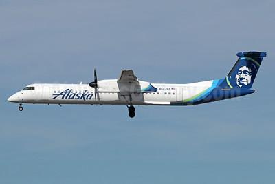 Alaska Horizon (Horizon Air) Bombardier DHC-8-402 (Q400) N447QX (msn 4364) LAX (Michael B. Ing). Image: 940774.