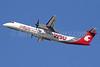Alaska Horizon (Horizon Air) Bombardier DHC-8-402 (Q400) N401QX (msn 4031) (WSU Cougars - Washington State University) LAX (Michael B. Ing). Image: 912406.
