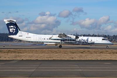 Alaska Horizon (Horizon Air) Bombardier DHC-8-402 (Q400) N444QX (msn 4355) SEA (Michael B. Ing). Image: 940661.