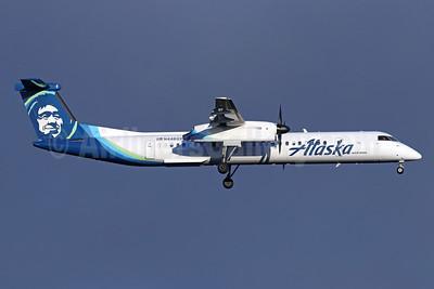 Alaska Horizon (Horizon Air) Bombardier DHC-8-402 (Q400) N446QX (msn 4363) SEA (Michael B. Ing). Image: 946449.