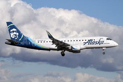 Alaska Horizon (Horizon Air) Embraer ERJ 170-200LR (ERJ 175) N637QX (msn 17000755) PAE (Nick Dean). Image: 945982.