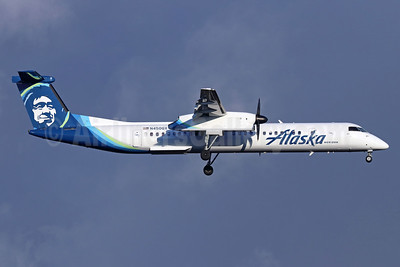 Alaska Horizon (Horizon Air) Bombardier DHC-8-402 (Q400) N450QX (msn 4452) SEA (Michael B. Ing). Image: 946451.