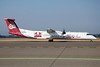 Alaska Horizon (Horizon Air) Bombardier DHC-8-402 (Q400) N402QX (msn 4032) (University of Montana-UM Griz) SEA (Bruce Drum). Image: 102535.