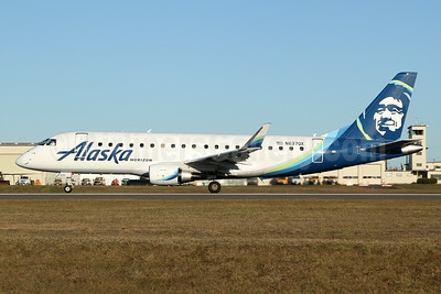 Alaska Horizon (Horizon Air) Embraer ERJ 170-200LR (ERJ 175) N637QX (msn 17000755) PAE (Nick Dean). Image: 946006.