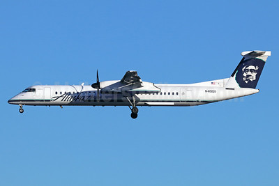 Alaska Horizon (Horizon Air) Bombardier DHC-8-402 (Q400) N4129QX (msn 4145) SEA (Michael B. Ing). Image: 940654.