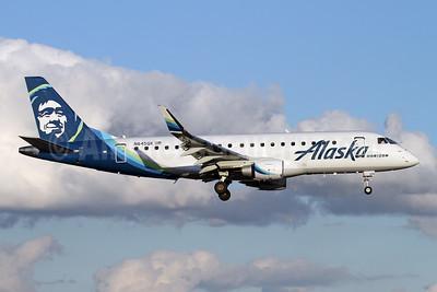 Alaska Horizon (Horizon Air) Embraer ERJ 170-200LR (ERJ 175) N645QX (msn 17000768) PAE (Nick Dean). Image: 945984.