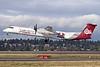 Alaska Horizon (Horizon Air) Bombardier DHC-8-402 (Q400) N402QX (msn 4032) (University of Montana-UM Griz) SEA (Michael B. Ing). Image: 927485.