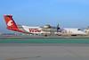 Alaska Horizon (Horizon Air) Bombardier DHC-8-402 (Q400) N401QX (msn 4031) (WSU Cougars - Washington State University) LAX. Image: 923143.