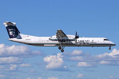 Alaska Horizon (Horizon Air) Bombardier DHC-8-402 (Q400) N450QX (msn 4452) ANC (Michael B. Ing). Image: 940663.