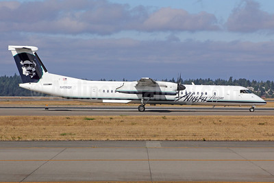 Alaska Horizon (Horizon Air) Bombardier DHC-8-402 (Q400) N406QX (msn 4048) SEA (Michael B. Ing). Image: 922647.