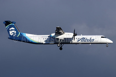Alaska Horizon (Horizon Air) Bombardier DHC-8-402 (Q400) N436QX (msn 4236) SEA (Michael B. Ing). Image: 947262.