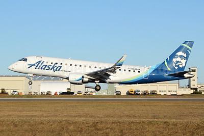 Alaska Horizon (Horizon Air) Embraer ERJ 170-200LR (ERJ 175) N638QX (msn 17000757) PAE (Nick Dean). Image: 946007.