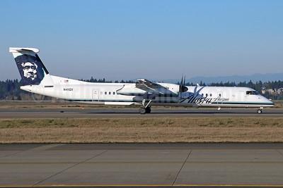 Alaska Horizon (Horizon Air) Bombardier DHC-8-402 (Q400) N411QX (msn 4055) SEA (Michael B. Ing). Image: 928181.