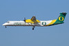 Horizon Air's University of Oregon Ducks special color scheme
