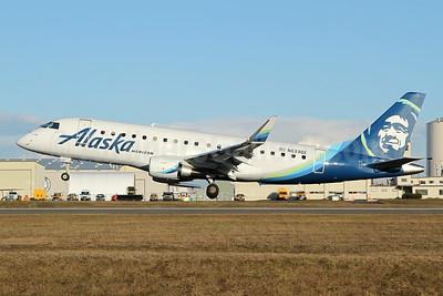 Alaska Horizon (Horizon Air) Embraer ERJ 170-200LR (ERJ 175) N633QX (msn 17000719) PAE (Nick Dean). Image: 945936.