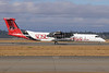 Alaska Horizon (Horizon Air) Bombardier DHC-8-402 (Q400) N414QX (msn 4061) (SDSU - San Diego State University Aztecs) SEA (Michael B. Ing). Image: 908808.