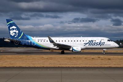 Alaska Horizon (Horizon Air) Embraer ERJ 170-200LR (ERJ 175) N620QX (msn 17000640) SEA (Michael B. Ing). Image: 942041.