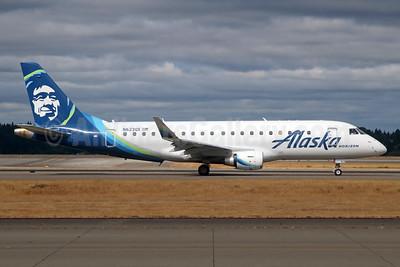 Alaska Horizon (Horizon Air) Embraer ERJ 170-200LR (ERJ 175) N623QX (msn 17000652) SEA (Michael B. Ing). Image: 942042.