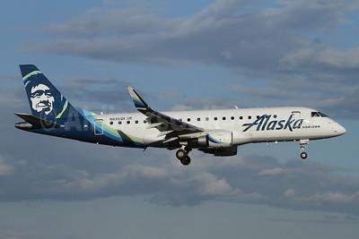 Alaska Horizon (Horizon Air) Embraer ERJ 170-200LR (ERJ 175) N636QX (msn 17000749) PAE (Nick Dean). Image: 946114.