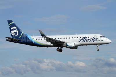 Alaska Horizon (Horizon Air) Embraer ERJ 170-200LR (ERJ 175) N627QX (msn 17000679) PAE (Nick Dean). Image: 946169.