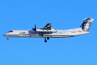 Alaska Horizon (Horizon Air) Bombardier DHC-8-402 (Q400) N444QX (msn 4355) SEA (Michael B. Ing). Image: 940662.