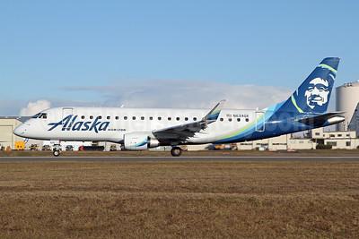 Alaska Horizon (Horizon Air) Embraer ERJ 170-200LR (ERJ 175) N634QX (msn 17000726) PAE (Nick Dean). Image: 945937.