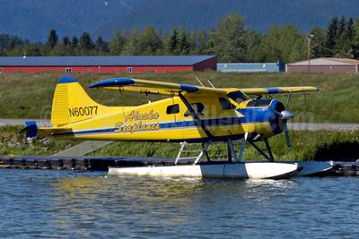 Alaska Seaplanes de Havilland Canada DHC-2 Beaver Mark 1 N60077 (msn 1419) JNU (Jay Selman). Image: 404056.
