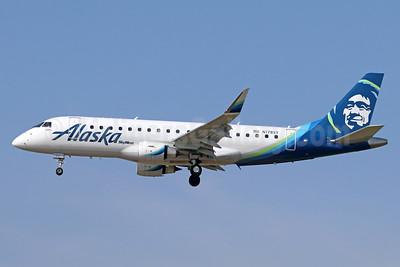 Alaska SkyWest (SkyWest Airlines) Embraer ERJ 170-200LR (ERJ 175) N178SY (msn 17000555) ONT (Michael B. Ing). Image: 937312.