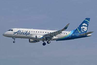 Alaska SkyWest (SkyWest Airlines) Embraer ERJ 170-200LR (ERJ 175) N189SY (msn 17000631) ONT (Michael B. Ing). Image: 938866.