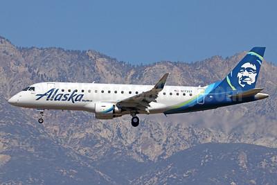 Alaska SkyWest (SkyWest Airlines) Embraer ERJ 170-200LR (ERJ 175) N173SY (msn 17000486) ONT (Michael B. Ing). Image: 940995.