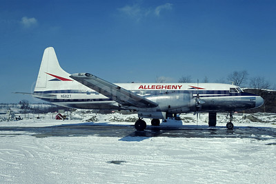 Allegheny Airlines (1st) Convair 580 N5827 (msn 46) PIT (Christian Volpati Collection). Image: 947591.