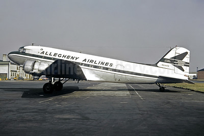 Allegheny Airlines (1st) Douglas C-47A-DK (DC-3) N91229 (N149A) (msn 12792) EWR (Jacques Guillem Collection). Image: 946386.