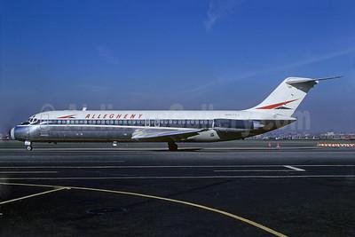 Airline Color Scheme - Introduced 1966 (slanted titles)