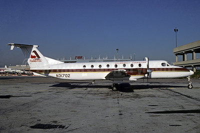 Allegheny Commuter - Pennsylvania Airlines Beech 1900C N31702 (msn UB-3) PHL (Bruce Drum). Image: 103619.