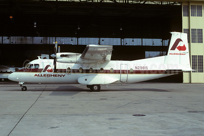 Allegheny Commuter - Pennsylvania Airlines Mohawk 298 N29816 (msn 101) PHL (Bruce Drum). Image: 103618.