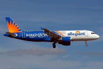 Allegiant Air Airbus A320-214 N218NV (msn 1229) (Make-A-Wish) SFB (Bruce Drum). Image: 103854.