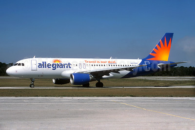 Allegiant Air Airbus A320-214 N217NV (msn 1347) (Travel is our deal) SFB (Christian Volpati Collection). Image: 935039.