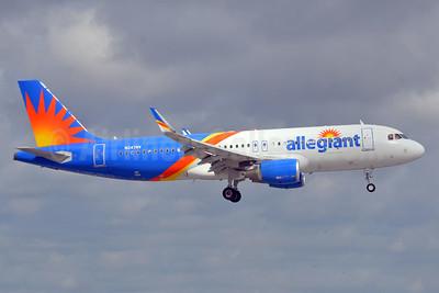 Allegiant Air Airbus A320-214 WL N247NV (msn 7704) FLL (Bruce Drum). Image: 104576.