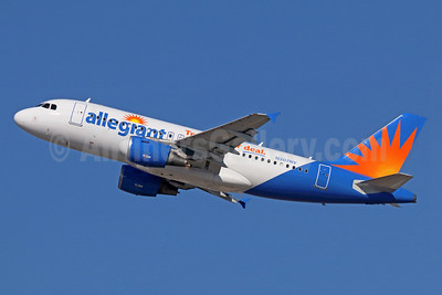 Allegiant Air Airbus A319-112 N307NV (msn 2427)  (Travel is our deal) LAX (Michael B. Ing). Image: 936469.