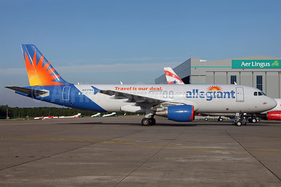 Allegiant Air Airbus A320-214 N217NV (msn 1347) (Travel is our deal) DUB (Greenwing). Image: 912599.