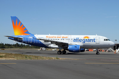 Allegiant Air Airbus A319-111 N304NV (msn 2265)  (Travel is our deal) BLI (Nick Dean). Image: 934345.