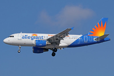Allegiant Air Airbus A319-112 N3028NV (msn 2450)  (Travel is our deal) LAX (Michael B. Ing). Image: 932872.