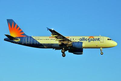 Allegiant Air Airbus A320-214 N217NV (msn 1347) (Travel is our deal) RDU (Ken Petersen). Image: 929452.