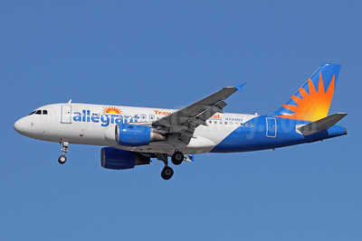 Allegiant Air Airbus A319-111 N330NV (msn 2786)  (Travel is our deal) LAX (Michael B. Ing). Image: 940550.