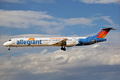 Allegiant Air McDonnell Douglas DC-9-83 (MD-83) N876GA (msn 53469) (Travel is our deal) LAS (Keith Burton). Image: 937122.