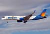 Allegiant Air Boeing 757-204 WL N903NV (msn 26966) (Travel is our deal) LAS (Bruce Drum). Image: 103815.