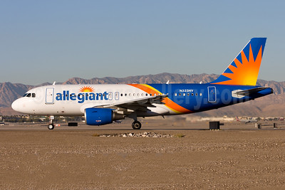Allegiant Air Airbus A319-111 N323NV (msn 2538) LAS (Gunter Mayer). Image: 954242.