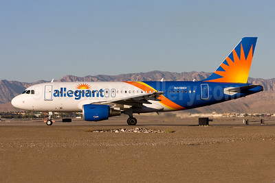Allegiant Air Airbus A319-111 N319NV (msn 2503) LAS (Gunter Mayer). Image: 954241.