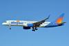 Allegiant Air Boeing 757-204 WL N904NV (msn 26967) (Travel is our deal) LAS (Jay Selman). Image: 402311.