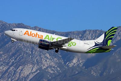 Aloha Air Cargo Boeing 737-330 (F) N301KH (msn 27904) ONT (Michael B. Ing). Image: 952517.